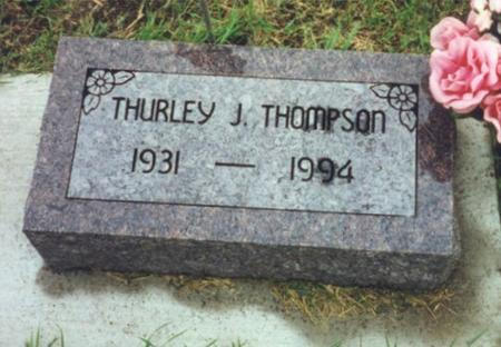 THOMPSON, THURLEY - Worth County, Iowa | THURLEY THOMPSON