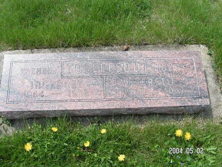 TOLLEFSON, INGEBRET - Worth County, Iowa | INGEBRET TOLLEFSON