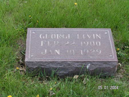 TONGA, GEORGE ELVIN - Worth County, Iowa | GEORGE ELVIN TONGA