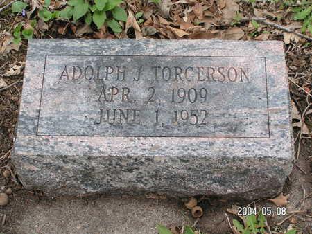 TORGERSON, ADOLPH J. - Worth County, Iowa   ADOLPH J. TORGERSON