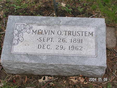 TRUSTEM, MELVIN O. - Worth County, Iowa   MELVIN O. TRUSTEM