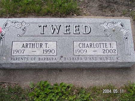 TWEED, CHARLOTTE L. - Worth County, Iowa   CHARLOTTE L. TWEED