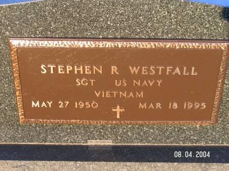 WESTFALL, STEPHEN R. - Worth County, Iowa | STEPHEN R. WESTFALL