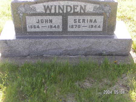 WINDEN, JOHN - Worth County, Iowa | JOHN WINDEN
