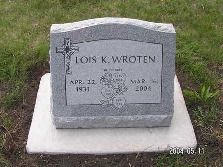 WROTEN, LOIS K. - Worth County, Iowa | LOIS K. WROTEN
