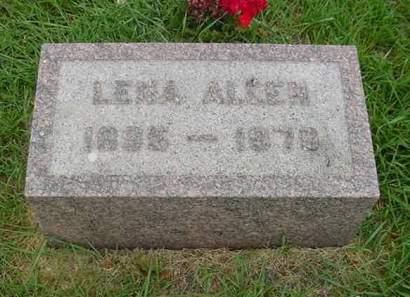 ALLEN, LENA - Wright County, Iowa | LENA ALLEN