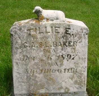 BAKER, TILLIE E. - Wright County, Iowa | TILLIE E. BAKER