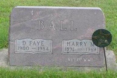 BALL, DORA FAYE - Wright County, Iowa | DORA FAYE BALL