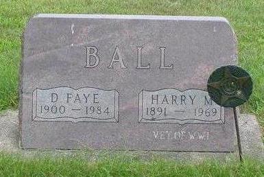BALL, HARRY MALCOM - Wright County, Iowa | HARRY MALCOM BALL