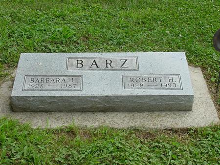 BARZ, ROBERT H. - Wright County, Iowa | ROBERT H. BARZ