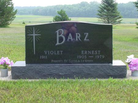 BARZ, VIOLET - Wright County, Iowa | VIOLET BARZ