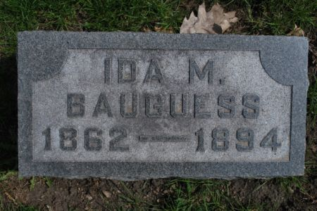 BAUGUESS, IDA M - Wright County, Iowa   IDA M BAUGUESS