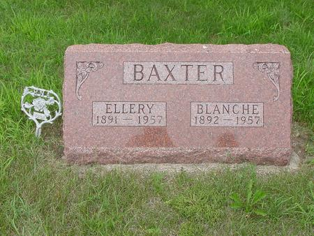 BAXTER, BLANCHE MAY BELLE - Wright County, Iowa | BLANCHE MAY BELLE BAXTER