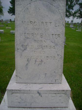 BAXTER, MARGARET  L. - Wright County, Iowa | MARGARET  L. BAXTER