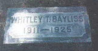 BAYLISS, WHITLEY - Wright County, Iowa | WHITLEY BAYLISS