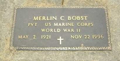 BOBST, MERLIN - Wright County, Iowa | MERLIN BOBST