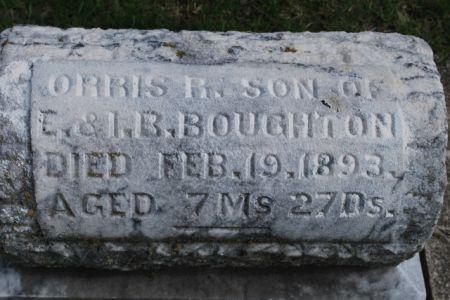 BOUGHTON, ORRIS R - Wright County, Iowa | ORRIS R BOUGHTON