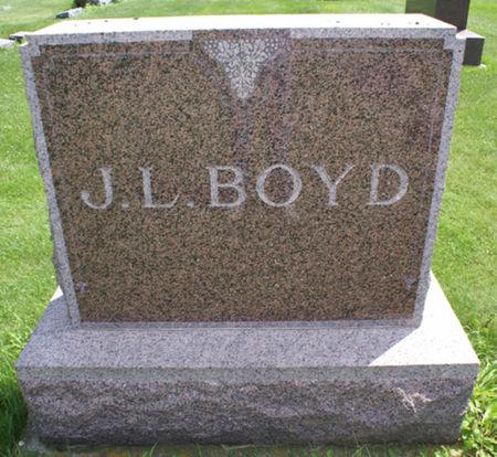 BOYD, JAMES - Wright County, Iowa   JAMES BOYD
