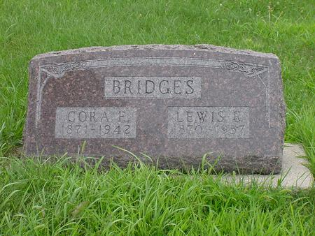 BRIDGES, CORA F. - Wright County, Iowa | CORA F. BRIDGES