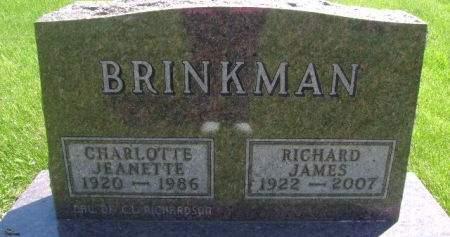 BRINKMAN, RICHARD JAMES - Wright County, Iowa | RICHARD JAMES BRINKMAN