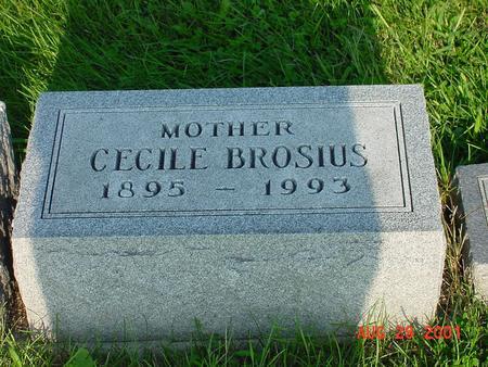 BROSIUS, CECILE - Wright County, Iowa | CECILE BROSIUS