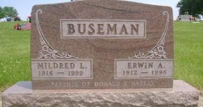 BUSEMAN, MILDRED L - Wright County, Iowa | MILDRED L BUSEMAN