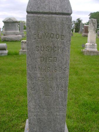 BUSICK, ELWOOD - Wright County, Iowa | ELWOOD BUSICK
