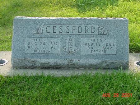CESSFORD, NELLIE E. - Wright County, Iowa | NELLIE E. CESSFORD