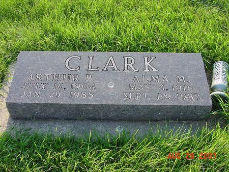 CLARK, ARTHUR B. - Wright County, Iowa | ARTHUR B. CLARK