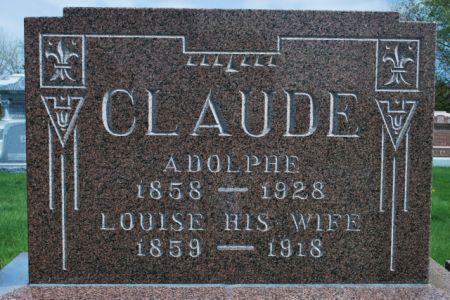 CLAUDE, LOUISE - Wright County, Iowa | LOUISE CLAUDE