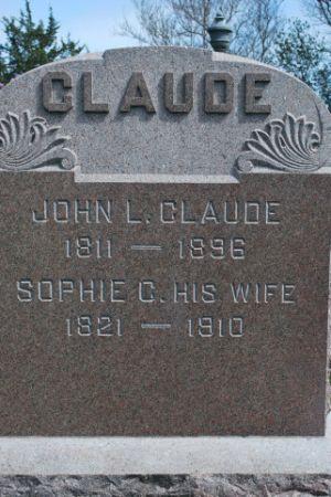 CLAUDE, SOPHIE C - Wright County, Iowa | SOPHIE C CLAUDE