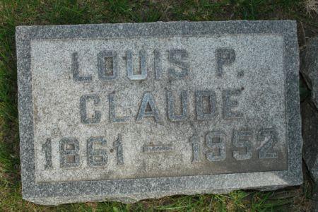 CLAUDE, LOUIS P - Wright County, Iowa | LOUIS P CLAUDE