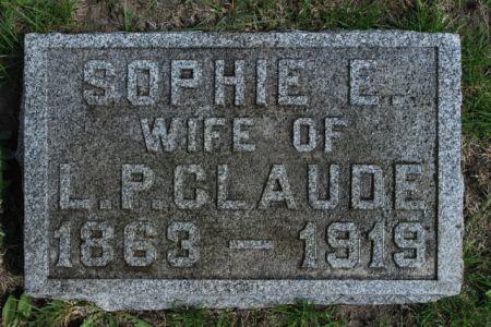 CLAUDE, SOPHIE E - Wright County, Iowa | SOPHIE E CLAUDE