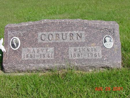 CRABTREE COBURN, WINNIE E. - Wright County, Iowa | WINNIE E. CRABTREE COBURN