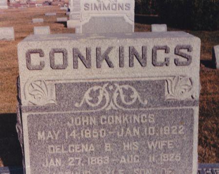 WHEELER CONKINGS, DELCENA - Wright County, Iowa | DELCENA WHEELER CONKINGS
