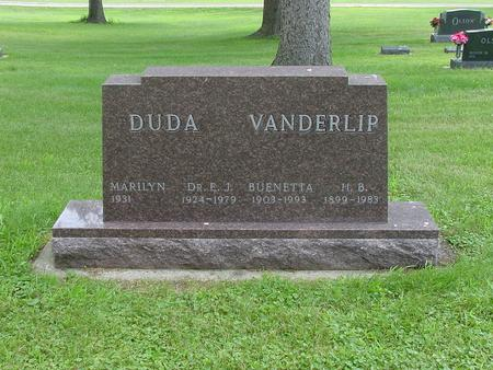 VANDERLIP DUDA, MARILYN - Wright County, Iowa | MARILYN VANDERLIP DUDA