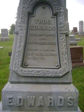 EDWARDS, THOS. - Wright County, Iowa | THOS. EDWARDS
