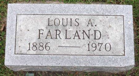 FARLAND, LOUIS ADOLF - Wright County, Iowa | LOUIS ADOLF FARLAND