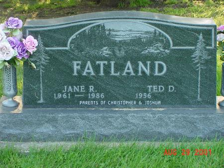 FLATLAND, JANE R. - Wright County, Iowa | JANE R. FLATLAND