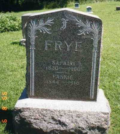 FRYE, XAVIER SAFARI - Wright County, Iowa | XAVIER SAFARI FRYE