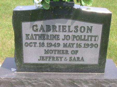 POLLITT GABRIELSON, KATHERINE JO - Wright County, Iowa | KATHERINE JO POLLITT GABRIELSON