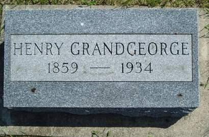 GRANDGEORGE, HENRY - Wright County, Iowa   HENRY GRANDGEORGE
