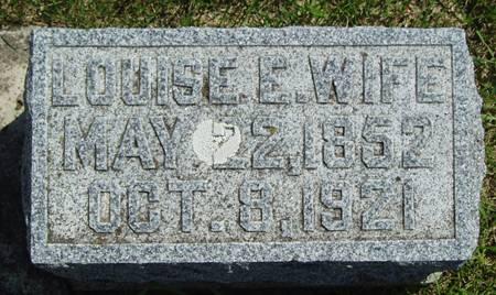GRANDGEORGE, LOUISE EMILY - Wright County, Iowa   LOUISE EMILY GRANDGEORGE