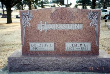 HANSON, DOROTHY - Wright County, Iowa | DOROTHY HANSON