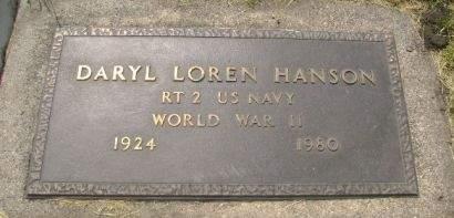 HANSON, DARYL LOREN - Wright County, Iowa | DARYL LOREN HANSON