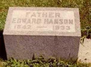 HANSON, EDWARD - Wright County, Iowa | EDWARD HANSON