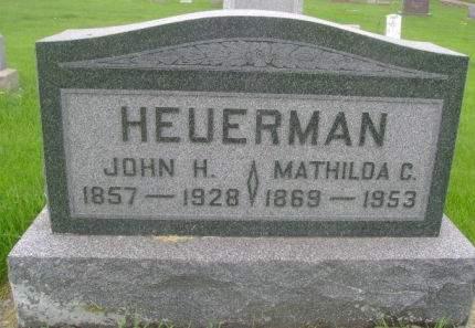 HEUERMAN, JOHN H. - Wright County, Iowa | JOHN H. HEUERMAN
