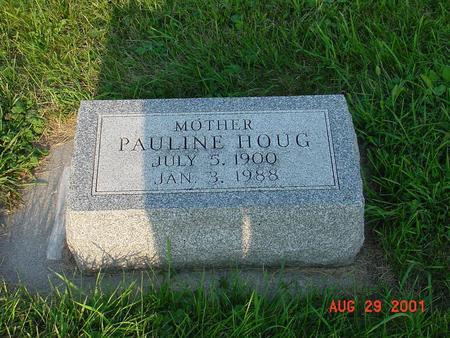 HOUG, PAULINE - Wright County, Iowa | PAULINE HOUG