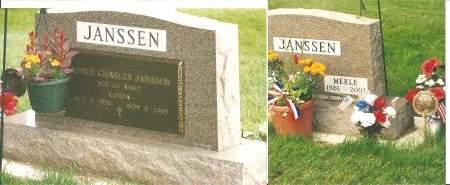 JANSSEN, MERLE CHARLES - Wright County, Iowa   MERLE CHARLES JANSSEN
