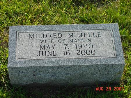 JELLE, MILDRED M. - Wright County, Iowa | MILDRED M. JELLE